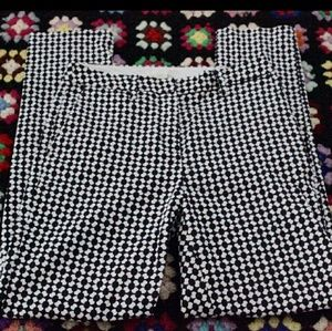 Classy H&M Black and White Dress Pants